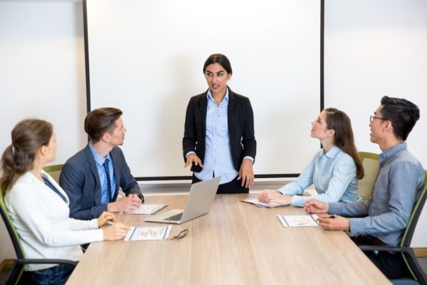 What can be done to increase female leadership in the industry