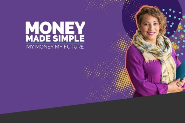 The My Money My Future app helps recommend financial products, has a budgeting tool, provides financial literacy education, and helps users create action plans