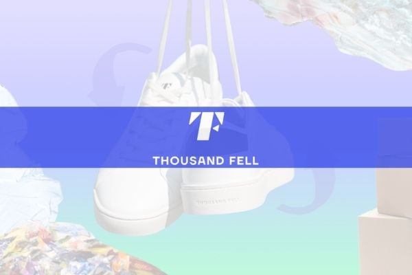 Thousand Fell is a sustainable footwear brand with a circular economy